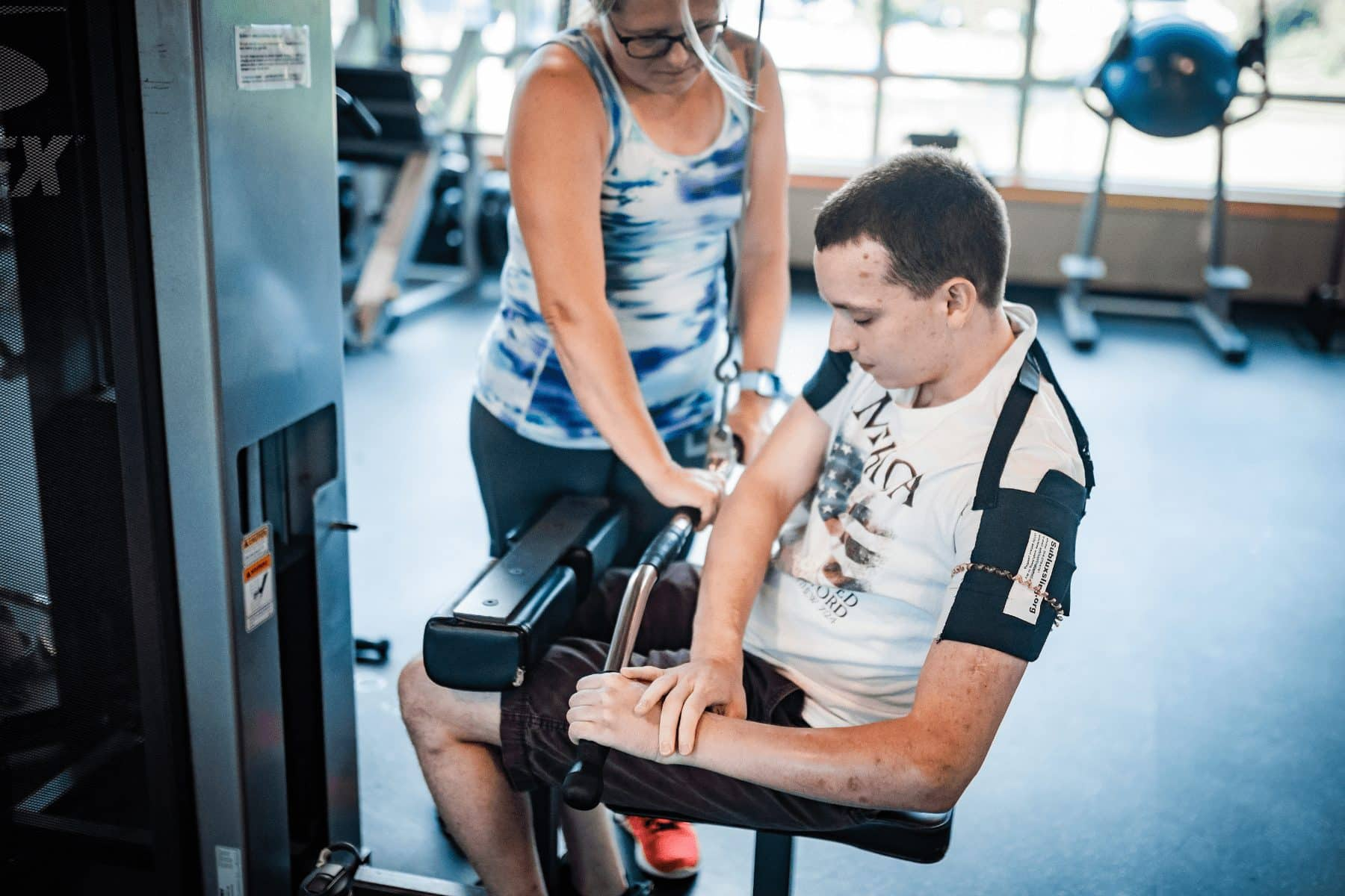 Joe's time at the York JCC has not only made him stronger physically, but he's found a community of support to provide emotional and mental encouragement to help him reach his goals. (Photo by Jeff Lautenberger for Our York Media)