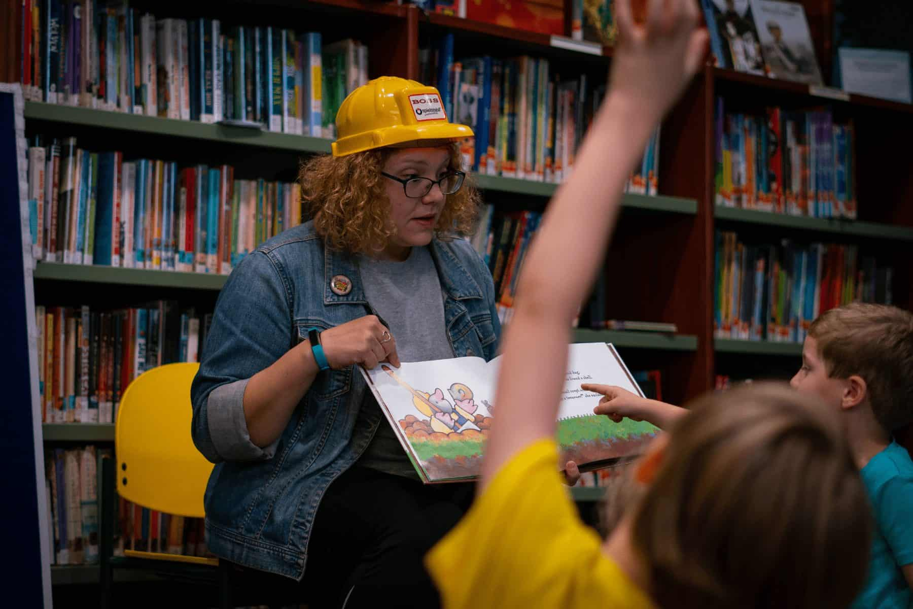 Story time events across the various York County Libraries locations aren't just reading books; they also encourage social interaction and movement. (Photo by Caleb Robertson for Our York Media)